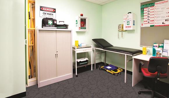 St John first aid room