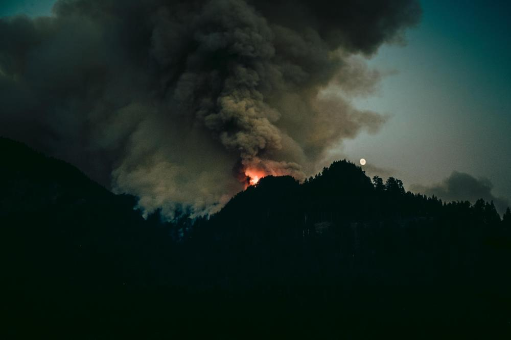 Bushfire smoke inhalation