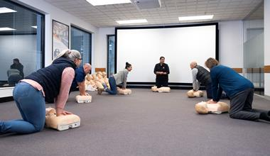 St John first aid training - socially distanced