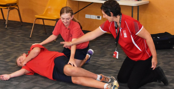 First Aid in Schools Program St Josephs Benalla