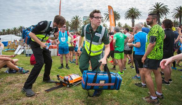 St John first aid at events volunteers