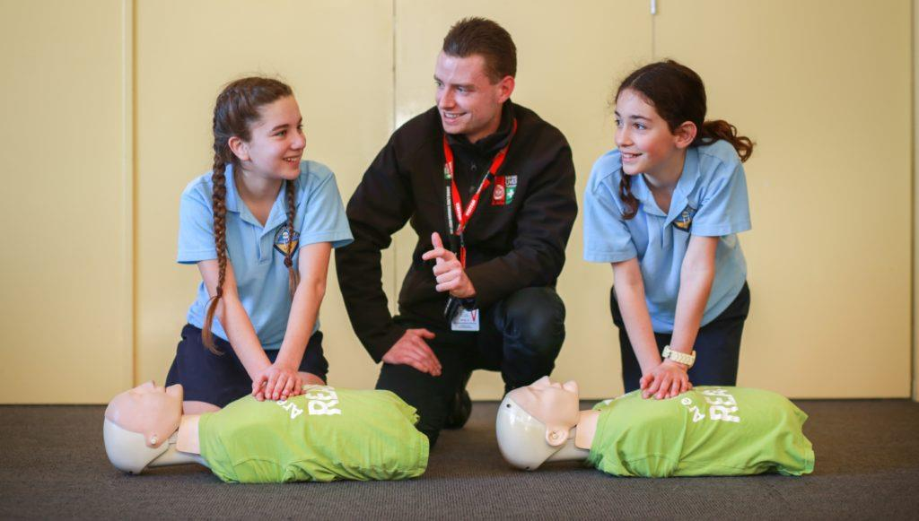 St John Appin Park First Aid in Schools Program