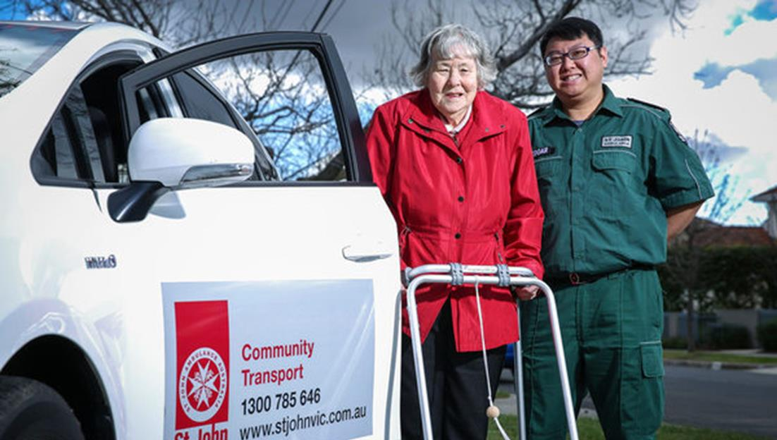 St John community transport service