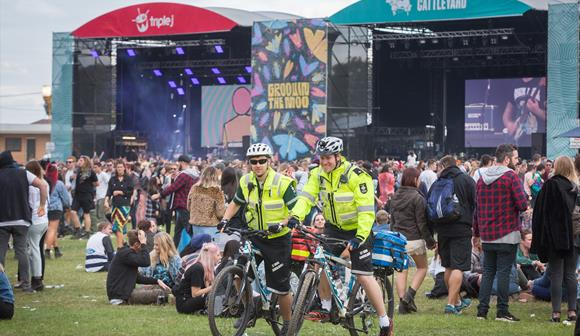 St John first aid at events bicycle emergency response team