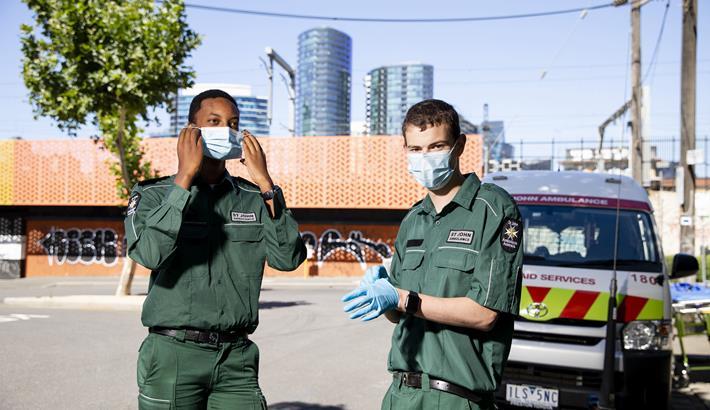 St John Volunteers COVID-19 Pandemic