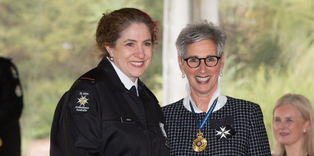 St John volunteer awarded