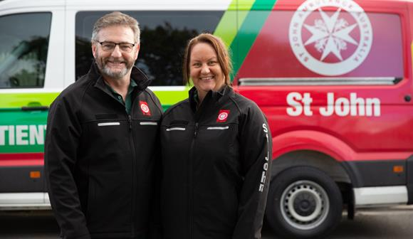 St John Non-emergency Patient Transport service