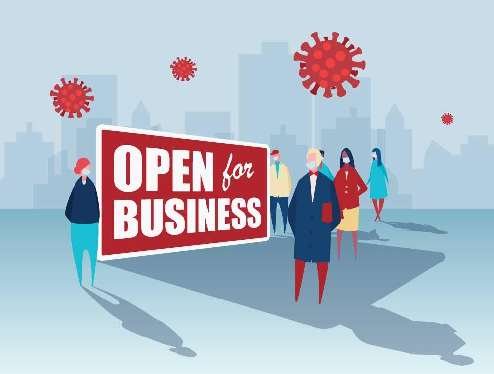Open For Business COVID 19