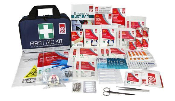St John first aid products first aid kit