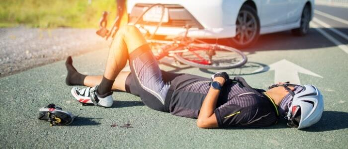 first aid for bicycle accident