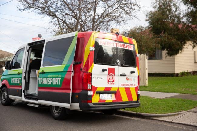 St John Ambulance Victoria Non Emergency Patient Transport NEPT Service