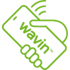 waving contact tracing software logo