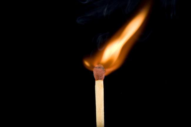 Burning Match